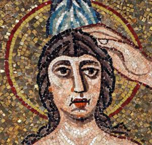 Mosaic: Baptism of Christ (Detail)