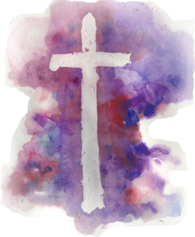 Cover art at St. Hugh's in Lent 2017