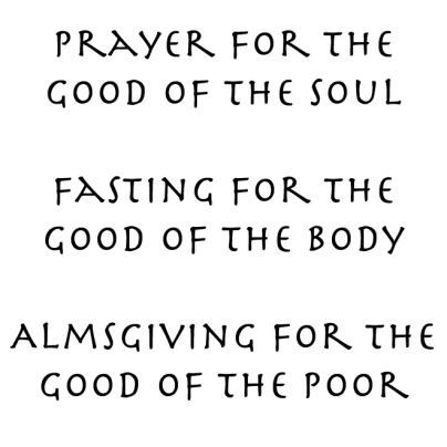 Prayer for the good of the soul