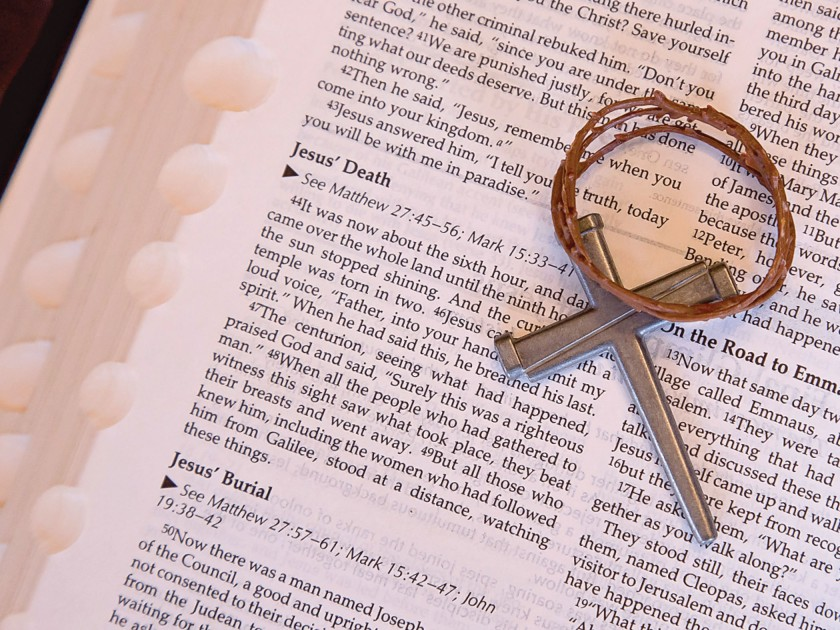 Cross of nails and the Bible