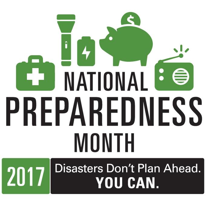 2017 National Preparedness Month